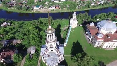 Борисоглебскоий монастырь. Колокольня.