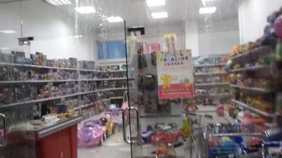 Ливень в гипермаркете