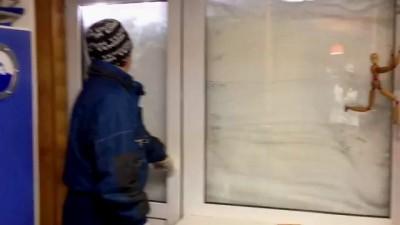 Выхожу я на балкон.23 марта 2013.Киев.