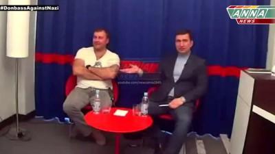 Михаил Пореченков рассказывает о своем визите в Донецк