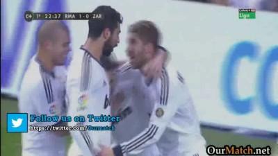 Реал М (Мадрид) – Сарагоса (Сарагоса) – 4:0