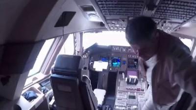 Грузовой самолет Боинг 747-8 изнутри глазами пилота!!!