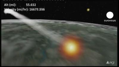 Спутник упадет сегодня, но где?