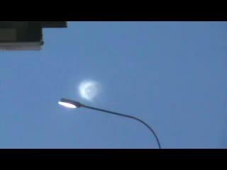 В Челябинске экипаж ДПС снял НЛО!