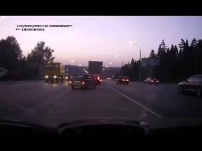 ДТП на пересечении Ленинградского шоссе ...