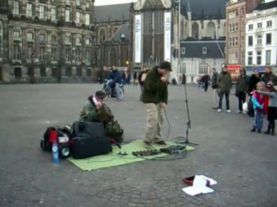 Dub FX live on Amsterdam