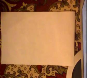 Как сделать пятиугольную звезду из бумаги / Origami pentagonal star