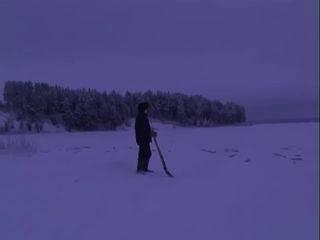 Место падения метеорита в Карелии