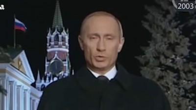 Мировые новости 2015! Новогоднее обращение Путина 1999 2013