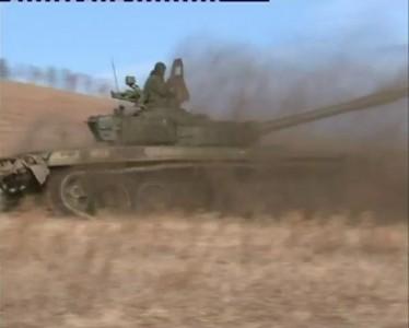Полицейский разворот на Т-72