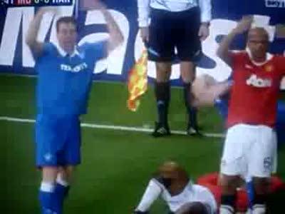 Страшная травма на футболе