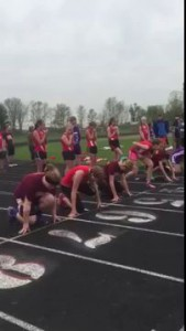 This Middle School Chick Fall Victim To The Biggest Track And Field Fail In Recorded History