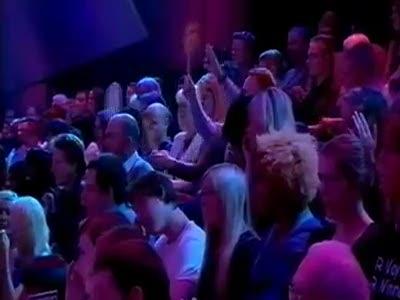 Ведущая накричала на зрителей