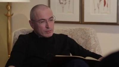 Видеофрагмент интервью с Михаилом Ходорковским