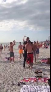 Полицейский разобрался с пьяным быдлом