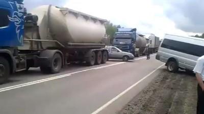 Как в России пробки объезжают