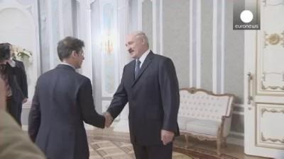 Лукашенк «Евроньюс»