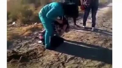 Жестокое избиения девушки[LKN TV]