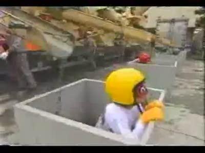Забетонированные японцы