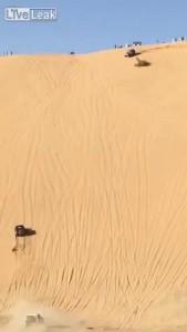 Песочное ДТП в Омане