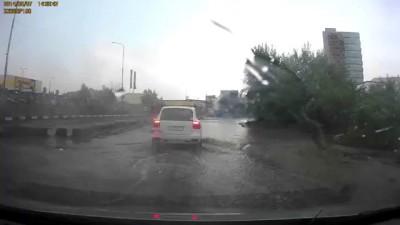 Потоп в Химках 07.06.2014