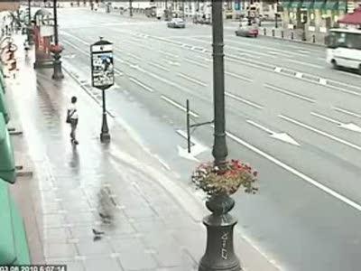 Смерть пешехода на Невском проспекте