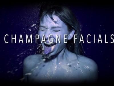 В шампанском...