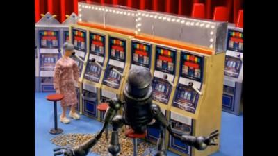 Робот насильник в казино