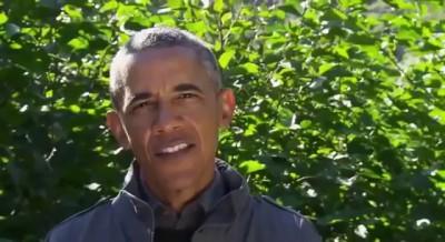 Обама и Беар Гриллс медведя лосось Сирия 06 11 2015 Bear Grylls and Barack Obama Alaska