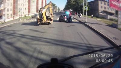 Прошляпил пешеходный пререход