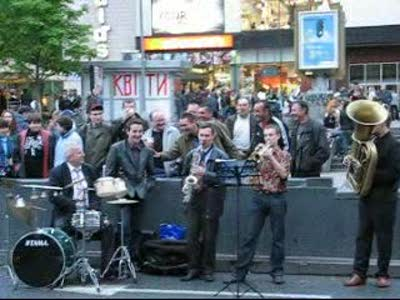 Музыканты на Хрещатике