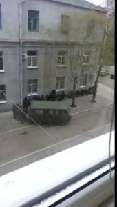 Славянск захват райотдела милиции