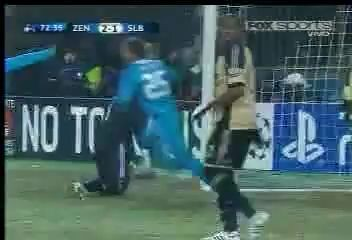 Zenit St Petersburg 2 - 1 Benfica (AMAZING FANTASTIC Goal - Sergei Semak)