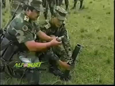 Осторожно! Миномёт! Mortar's incident.