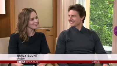 Tom Cruise & Emily Blunt Interview - Edge of Tomorrow - Breakfast