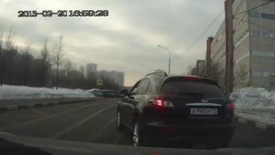 Беспредел на дороге