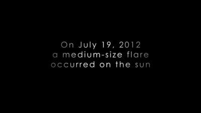 NASA опубликовало видео «коронального дождя»