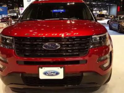 2016 Ford Explorer Rezension #explorer