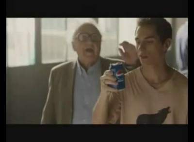 Реклама Пепси - живи большими глотками