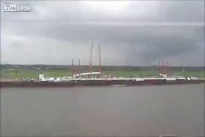 1. Строительство моста Де Overloop в городе Неймеген.Нидерланды