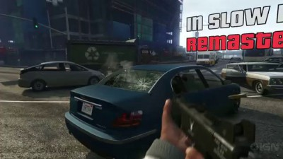 Grand Theft Auto 5 In Slow-Motion: Remastered