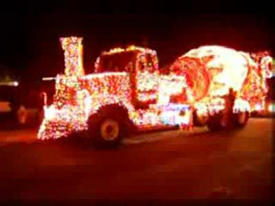 Новогодний грузовик