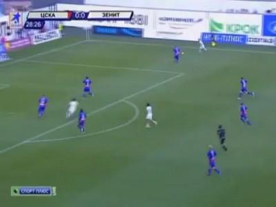 CSKA vs Zenit 0-2 ЦСКА-Зенит 0-2