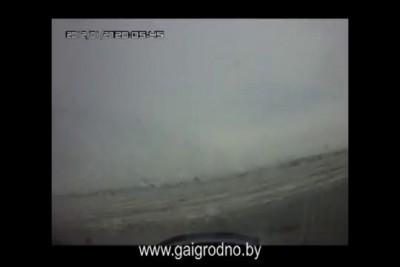 ГАИ Гродно - на трассе М6 Минск-Гродно подрезали авто