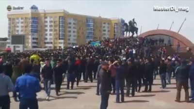 Митинг в Казахстане 2016