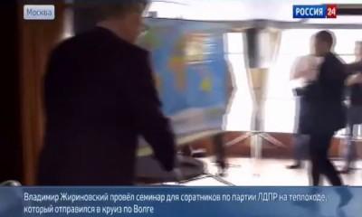 Жириновский: мэр Херсона последний подлец и негодяй 10 05 2014