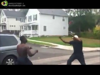 Разборка в черном квартале
