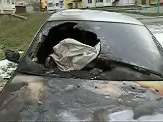 Взрыв БМВ