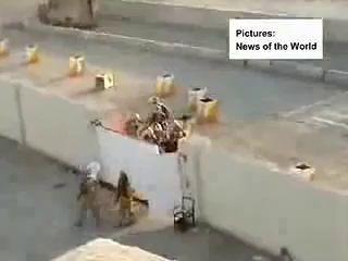 Американские военные избивают детей в Ираке