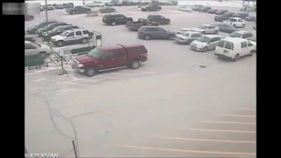 WATCH: US Worst Car Driver | 92-Year-Old Man Crashes Into 10 Cars In Grocery Store Parking Lot